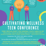 Cultivating Wellness Teen Conference to be held on Sept. 26