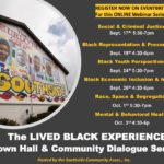 Lived Black Experience Town Hall & Community Dialogues Series to be held Oct. 1, 3
