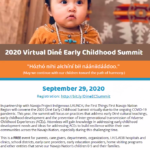 2020 Virtual Diné Early Childhood Summit on Sept. 29
