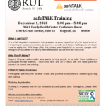 Reach UR Life Suicide Prevention program offering FREE suicide prevention trainings – safeTALK (Dec. 1), ASIST (Dec. 7-8)
