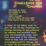 NACA's Native Connections to present 'The Youth 30 Day Challenge for Change!' through Nov. 21