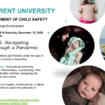 Planning Ahead — Navigating Parenthood through a Pandemic workshops to be held Dec. 12