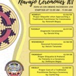 Navajo Nation Division of Behavioral & Mental Health Services to present 'Navajo Ceremonies 101' Nov. 18, 19, 20