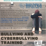 Connections Spotlight — CCC&Y to present 'Bullying and Cyberbullying Training' on Nov. 17