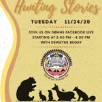 Navajo Nation Division of Behavioral & Mental Health Services to present 'Hunting Stories' Nov. 24