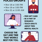 Stronger as One, NACA's Native Connections hosting Mental Health Focus Groups on Nov. 18, 19, 21