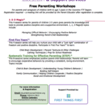 Arizona's Children Association to present Free Parenting Workshops Jan. 21, 28 & Feb. 4