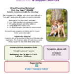 April 28, May 5, 12, 19 — Arizona's Children Association presents 'First Five Years Online'