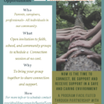 CCC&Y — Local individuals, organizations to schedule their own Connection virtual session at no cost